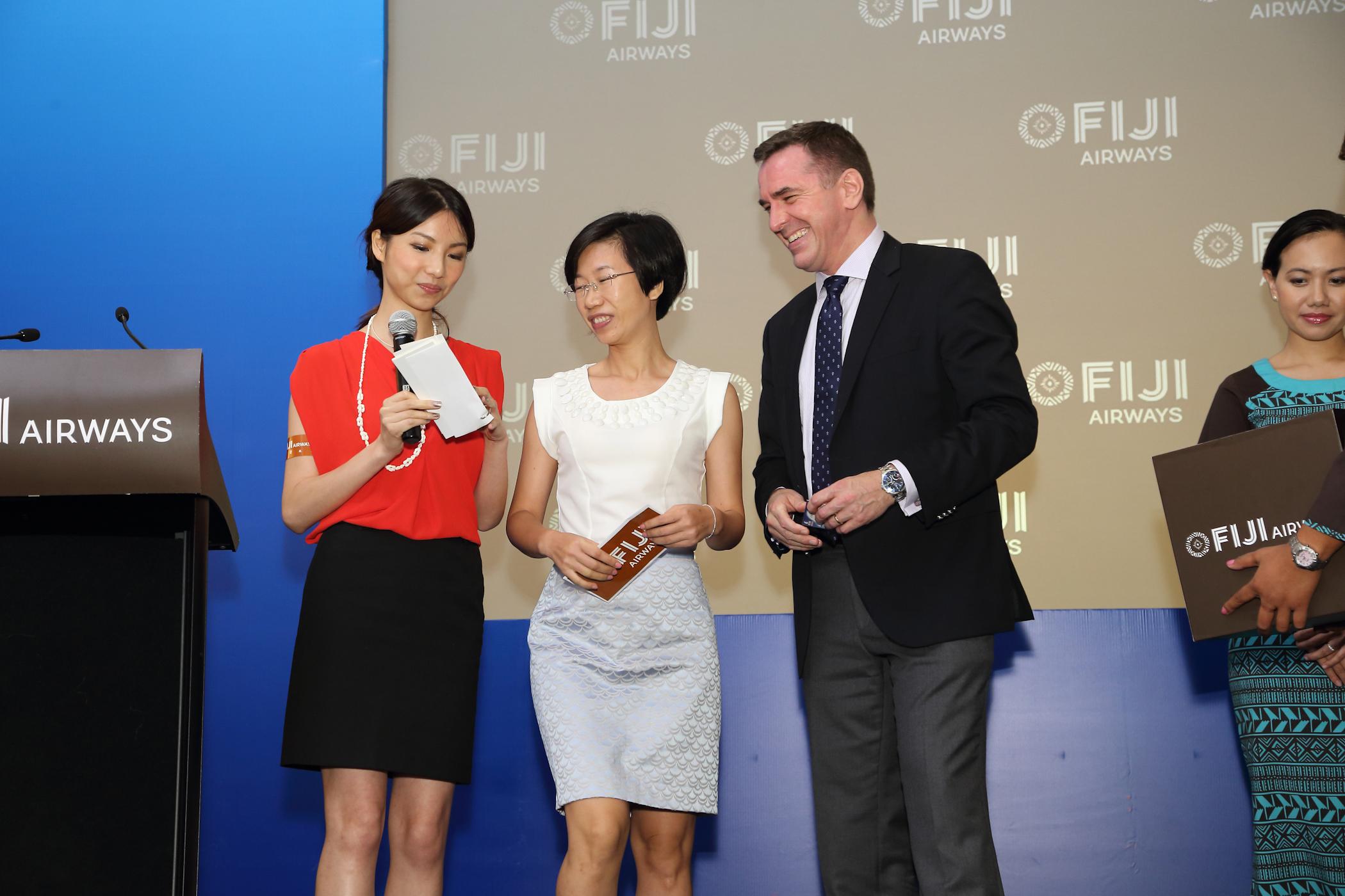 Fiji Airways Rebranding Event (English Cantonese- Translation)
